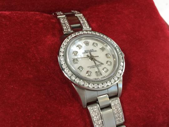 Rolex Ladies Rolex Oyster Perpetual Diamond Watch