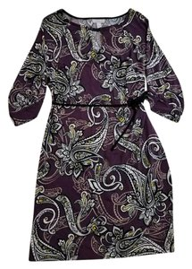 A Pea In The Pod Paisley Casual Dress