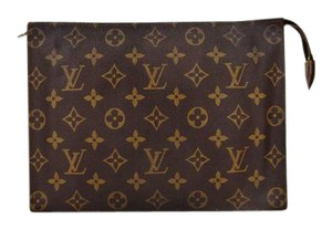 Louis Vuitton Vintage Toilette 26 Monogram Large Cosmetics Travel Dopp Bag France