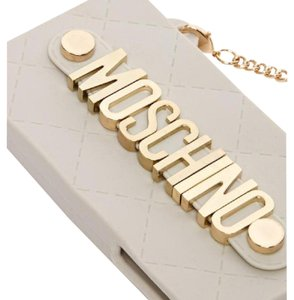 Moschino Authentic IPhone 5/5s Crossbody Case Moschino Letter Case