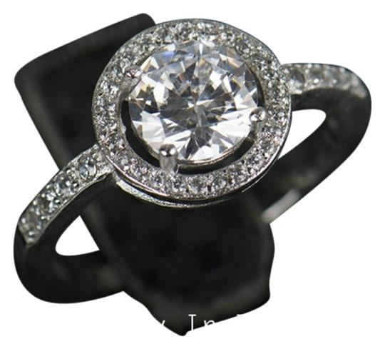Other 4 CTW round halo Simulated diamond engagement ting