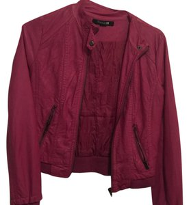Forever 21 Pink Leather Jacket