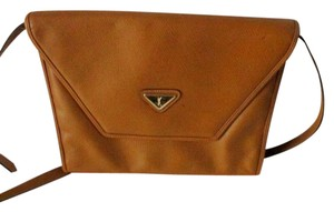 Saint Laurent Vintage Leather Yves Crossbody And Yellow Clutch