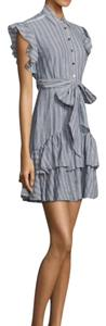 Rebecca Taylor short dress Blue and White on Tradesy