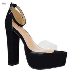 Chase & Chloe Black Platforms
