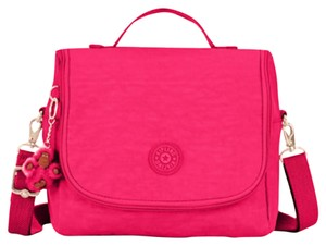 Kipling Kichirou Lunch Crossbody Lunch Tote in Vibrant Pink
