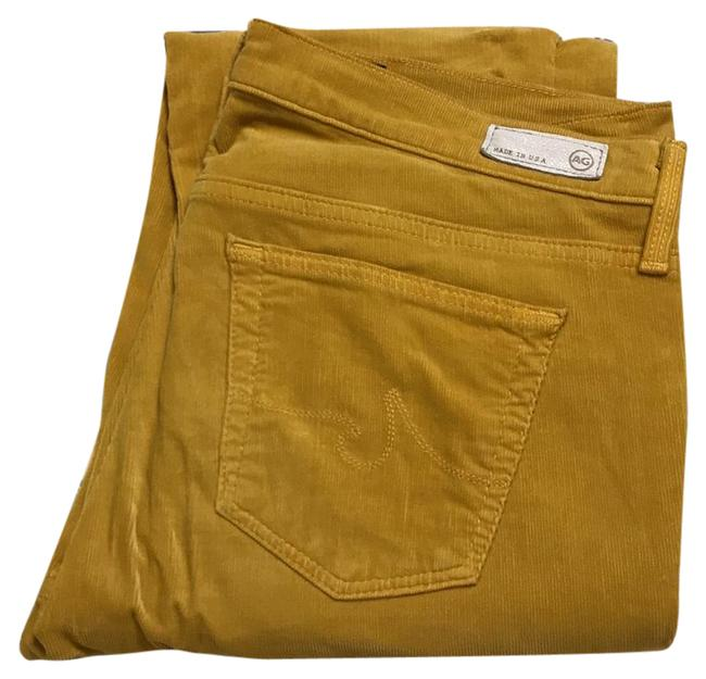 Item - Mustard Yellow The Stevie Slim Straight Capri/Cropped Jeans Size 29 (6, M)