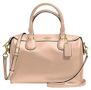 Coach Leather Bennett Crossbody 36677 Satchel in beechwood/ gold tone