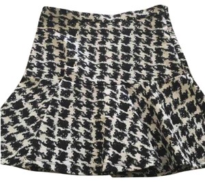 Parker Mini Skirt black and white