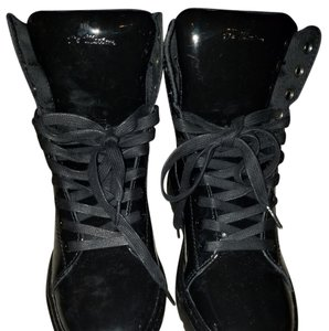 Dr. Martens Patent Leather Black Boots
