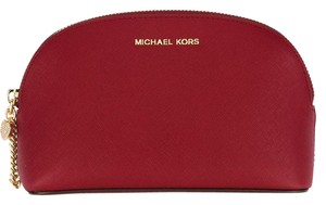 Michael Kors Alex Makeup Pouch Travel Cherry Travel Bag