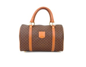 Céline Louis Vuitton Speedy Monogram Boston Tote in Brown