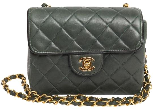 b5e46b03fabb Chanel Mini Flap Bag Green | Stanford Center for Opportunity Policy ...
