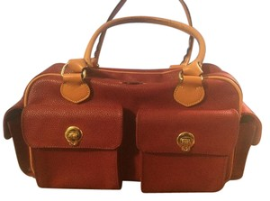 Bric's Satchel in red