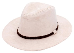 fedora New Ladies Braided faux suede band fedora hat