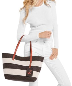 Michael Kors Limited Edition Illustrations Tote in Brown Monogram