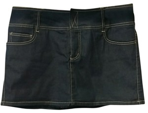 Xhilaration Mini Skirt Denim
