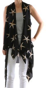 LONG VEST NEW STARFISH PATTERN COVER UP VEST