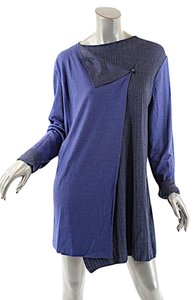 Pashmere Perwinkle Cable Tunic