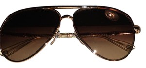 Gucci Gucci 4276 gold brown aviator