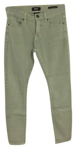 BDG Colored Skinny High Waisted Stretchy Teal Skinny Jeans-Light Wash