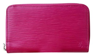 Louis Vuitton DISCONTINUED Louis Vuitton Pink Epi Compact Travel Wallet