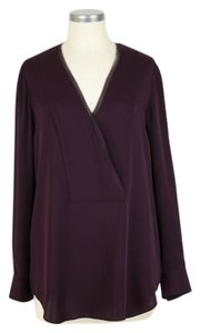 Theory Top deep plum
