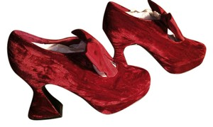 Sacha London Red Platforms