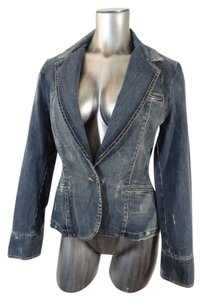 Serfontaine Blazer Jean Denim Womens Jean Jacket