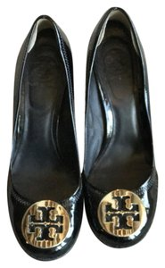 Tory Burch Patent Leather Classic Designer Black Pumps