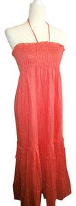 coral Maxi Dress by Anthropologie