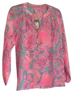 Lilly Pulitzer Top Too Much Bubbly