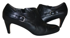 Cole Haan Size 9 Leather Black Boots