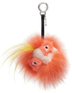 Fendi Fendi Bug Bag Monster Charm Keychain