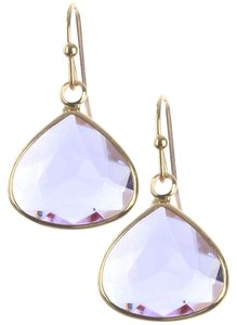 Other TRILLION CUT FACETED LUCITE STONE EARRINGS