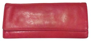 Hobo International hobo international sadi Sadie trifold red soft leather wallet hobo original