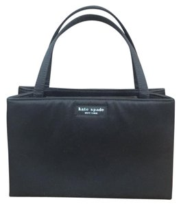 Kate Spade Satchel in Black with silver hardware