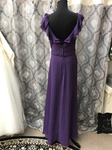 Allure Bridals Eggplant 1304 Bridesmaid/Mob Dress Size 8 (M)