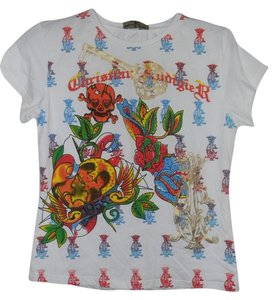 Christian Audigier T Shirt White