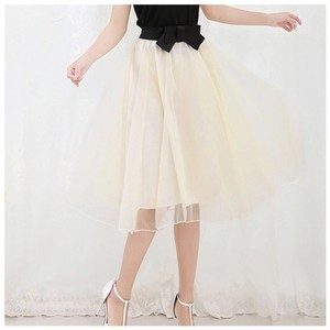 Other Skirt Ivory & Black