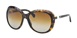Chanel NEW Chanel 5302H Polarized Brown Oval Pearl Sunglasses