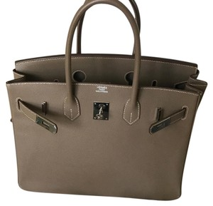 Hermès Satchel in Taupe