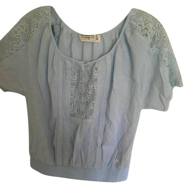 Abercrombie & Fitch Blue Blouse Size 4 (S) Abercrombie & Fitch Blue Blouse Size 4 (S) Image 1
