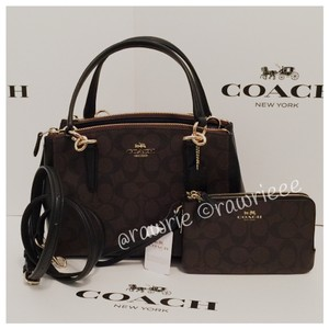 Coach Monogram Set Gift Set Gift Box Matching Set Satchel in Black