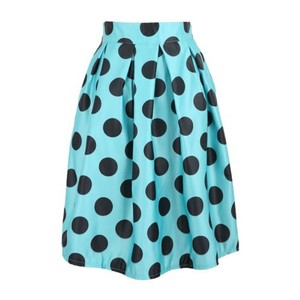 Other Skirt Mint Green Teal & Black