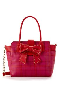 Betsey Johnson Tote in Pink Multi