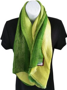 Theodora & Callum T+C Theodora & Callum large two tonal green cover/ scarf/ wrap New