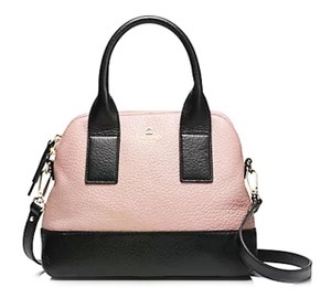 Kate Spade Satchel in Rose beige/Black