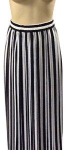 Jaeger Maxi Skirt Blue, white