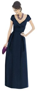 Alfred Sung Midnight, Navy Alfred Sung's Stunny Bridesmaid Dress Dress